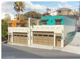 Departamentos Hipodromo: Casas de estilo mediterraneo por ALUR Arquitectos