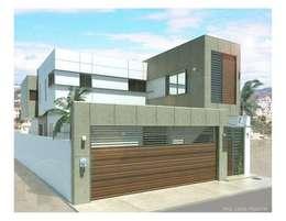Casas de estilo moderno por ALUR Arquitectos