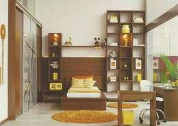Interiores: Quartos  por Daniela Tolotti Arquitetura e Design