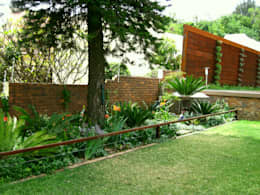 Large Family Garden: modern Garden by Young Landscape Design Studio