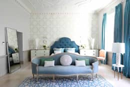 eclectic Bedroom by niche pr