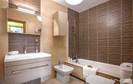 MORANDO INMOBILIARIA: rustik tarz tarz Banyo