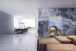 Projekty,  Jadalnia zaprojektowane przez destilat Design Studio GmbH