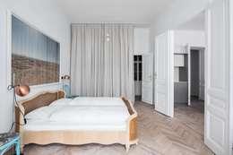 غرفة نوم تنفيذ destilat Design Studio GmbH