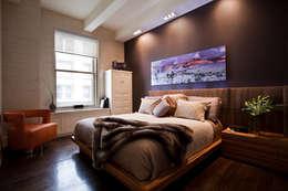 minimalistic Bedroom by JKG Interiors