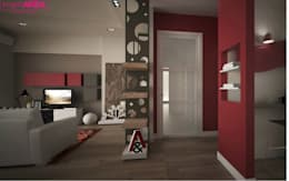 Koridor dan lorong by progettAREA interni & design