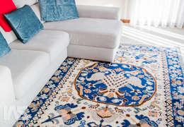 غرفة المعيشة تنفيذ IAS Tapeçarias
