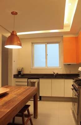 Cocinas de estilo moderno por daniela kuhn arquitetura