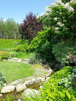 Планировочные решения: Сады в . Автор – Укр Ландшафт Парк