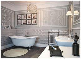 Baños de estilo colonial por Осейко Алексей и Виктория