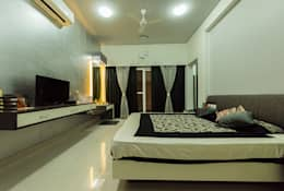 Sanchetna: modern Bedroom by Ankit Goenka