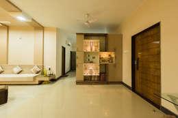 Sanchetna: modern Living room by Ankit Goenka