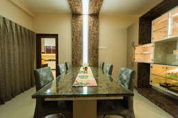 Sanchetna: modern Dining room by Ankit Goenka