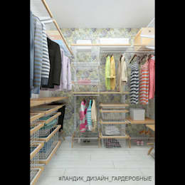modern Dressing room by LANDIK INTERIOR DESIGN