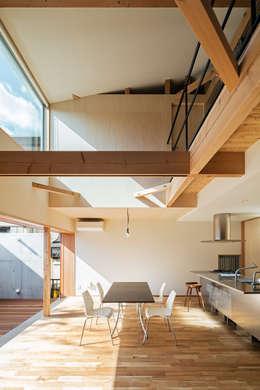 S-house: coil松村一輝建設計事務所が手掛けたダイニングです。