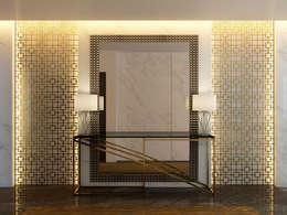 Pasillos y vestíbulos de estilo  por Paolo Ciacci