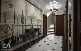 الممر والمدخل تنفيذ Design studio by Anastasia Kovalchuk