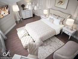 classic Bedroom by Design studio by Anastasia Kovalchuk
