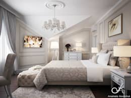 classic Bedroom by Design studio by Anastasia Kovalchuk