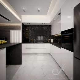 modern Kitchen by Design studio by Anastasia Kovalchuk