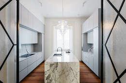 Projekty,  Kuchnia zaprojektowane przez NOMADE ARCHITETTURA E INTERIOR DESIGN