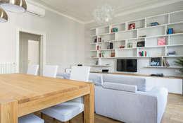 Salas / recibidores de estilo clásico por NOMADE ARCHITETTURA E INTERIOR DESIGN