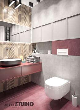 minimalistic Bathroom by MIKOLAJSKAstudio