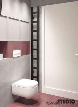 Baños de estilo minimalista por MIKOLAJSKAstudio