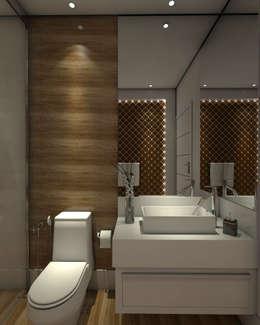 浴室 by Caio Pelisson - Arquitetura e Design