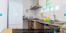Cocina de estilo  por iProperty Design - Home Staging & Soluciones inmobiliarias