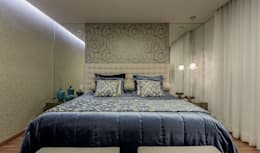 eclectic Bedroom by Aleggra Design & Arquitetura - Janaina Naves