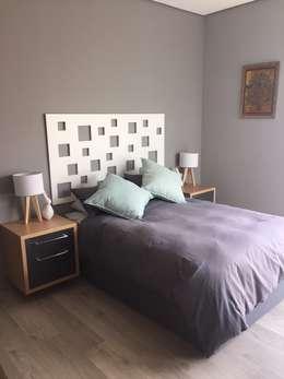 House Verster - Johannesburg : modern Bedroom by Graftink Interior and Architectural Design Studio