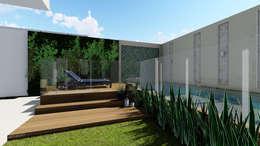 Casas de estilo moderno por Studio KT arquitetura.design