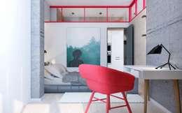 Target-52: Спальни в . Автор – Zikzak Design Studio
