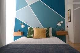 Projekty,  Sypialnia zaprojektowane przez aponto