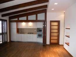 mediterranean Kitchen تنفيذ I-TAO architecture 'n design