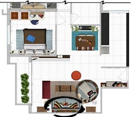 Space Planning-2:   by Srijanaa