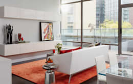 modern Living room تنفيذ Douglas Design Studio
