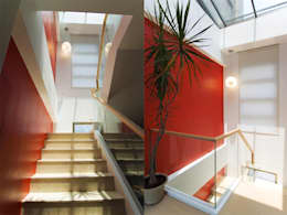 陽光樓梯間:   by 果仁室內裝修設計有限公司
