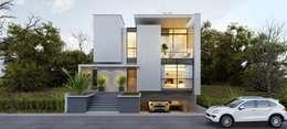 Casas de estilo moderno por Flávia Kloss Arquitetura de Interiores