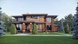 住宅 by Архитектурное бюро Art&Brick