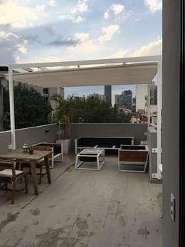 M s de 30 ideas de p rgolas y techos para tu patio que for Ver toldos para patios