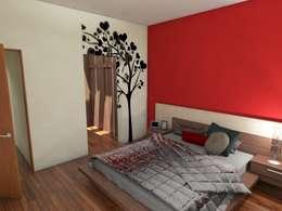 Dormitorios de estilo moderno de Gastón Blanco Arquitecto