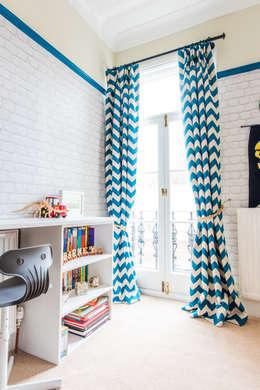 modern Nursery/kid's room تنفيذ fleur ward interior design