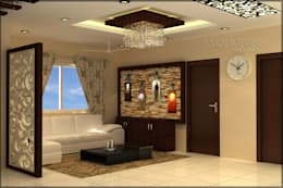 Mr. Praveen. : modern Living room by Insign
