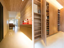 玄關鞋櫃:   by 果仁室內裝修設計有限公司