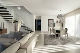 Ein Wohnzimmer Im Modernen Stil