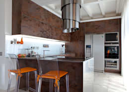 Cocina de estilo  por Andrea Picinelli