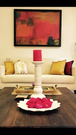 Living Room: modern Living room by Aditi Morayya