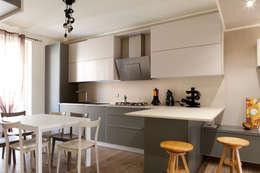 Cocinas de estilo moderno por Andrea Picinelli